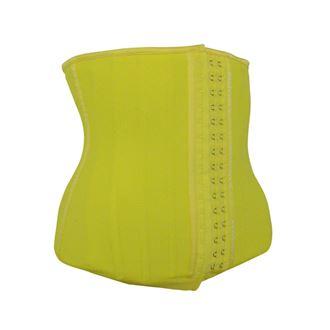 yellow_waist_trainer_rubber_latex_25_steel_bones_best_uk_shapewear_corset_cincher_body_shaper_slim_slimming_belt_tummy_torso_ab_abs_belly_fat_lose_weight_loss