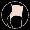 Bild von Glam Line High Waist G-String Thongs